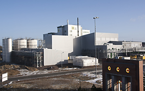 The new surfactants plant on completion.